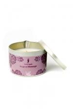 Bougie de massage Monoï : Bougie de massage parfum Monoï fabriquée en France pour des moments sensuels.
