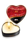 Mini bougie de massage Noix de Coco : Bougie de massage sensuelle et gourmande au format idéal pour un massage tout en douceur. Parfum agréable et fruité.